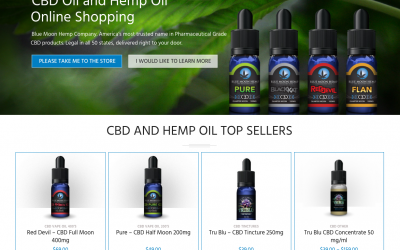 Blue Moon Hemp CBD Oil Is Blazing A New Health Trail